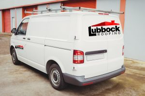 Lubbock Roofing Company Truck